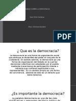 TRABAJO SOBRE LA DEMOCRACIA