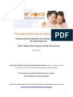 The State of Elder Care in Central Minnesota