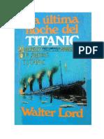 La Última Noche Del Titanic (1955)