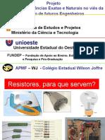 Cap 7 - RESISTORES.ppt