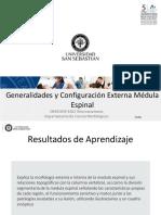 Clase 06 Generalidades y Configuración Externa Médula Espinal DBIO 1039-1062