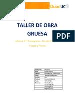 """Cursograma y Lista de chequeo """"Trazados y Niveles"""""""