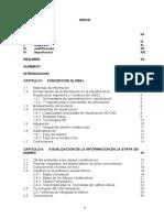 Indice, antecedentes, objetivos, resumen