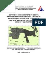 Estudio de microzonificacion sismica y peligros multiples del distrito del Cercado de Lima.pdf
