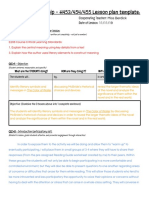 sei - s1 running lesson plan - color of water - google docs