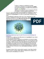 coronavirus en estados unidos.