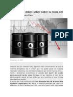 Petróleo I. Articulos de  prensa.docx