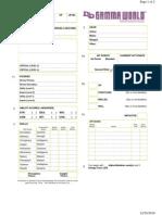 Gamma World Character Sheet