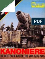 Das III Reich Sondersheft 10 - Kanoniere Waffen SS Die Deutsche Artillerie Von 1939-1945