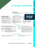 M 4 675 Doc - Techniques De L'ingénieur - Propriétés Des Alliages D'Aluminium De Fonderie
