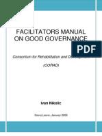 Corad_governance Facilitator Manual