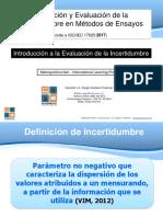 Introducción a la Evaluación de la Incertidumbre