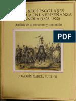 Los textos escolares de historia en la enseñanza española (1808-1900)