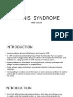 Kounis Syndrome PPT