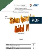 sistema operativo unidad IV