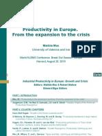 EU US JP Productivity Comparison