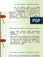 14.Pobreza en Ecuador y América Latina