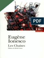 Eugene Ionesco - Les chaises- Jericho