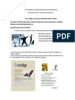 Taller Semana 5. Inglés-Ciencias naturales. Grado Sexto.pdf
