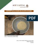 Etude Sectorielle – La filière du Mil en Côte d'Ivoire