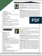 AFU 1st Batch (Veterinary) Profile Book