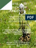 CARTILLA DE EDUCACION AMBIENTAL