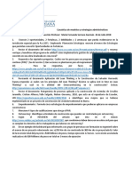 Taller de Asignatura GERENCIA DE PROYECTOS Casuistica.