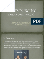Que es Outsourcing?