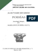 Poesías, antología bilingüe  Al-Mu'tamid Ibn 'Abbad