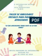 Poster Afiche Taller Para Padres