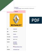 Historia Renault