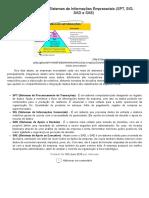 Tipos de Sistemas de Informações Empresariais (SPT, SIG, SAD e SAE) _ Fundamentos em Sistemas de Informação