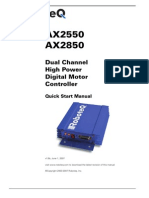 Dual ChannelHigh PowerDigital MotorController