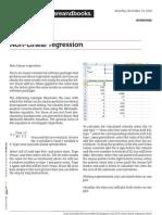 Non Linear Regression 1