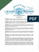 Declaration of Emergency Directive 016.4!29!20 (1)