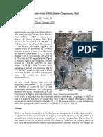 Geología de la mina Ministro Hales. Boric y otros, 2009 (traducción)