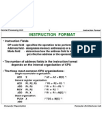 15068 Instuction Formats