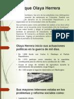 Enrique Olaya Herrera diapositivas