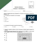 PRUEBA EDUCACION MATEMATICA 4º BASICO UNIDAD 2