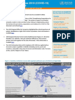 WHO COVID-19 situation report April 29, 2020