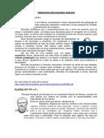 PRINCIPAIS EDUCADORES GREGOS