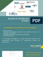 Busqueda de informacion eficiente