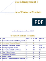 2. Overview of Financial Markets