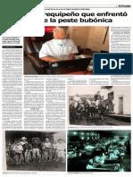El médico arequipeño que enfrentó el rebrote de la peste bubónica (Francisco Martínez Benavides)
