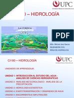 Introducción Hidrología, Balance Hídrico