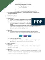 CLASE5-INTRODUCCIÓN A LA BIOQUÍMICA Y NUTRICIÓN