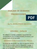 Demanda-proyecciones