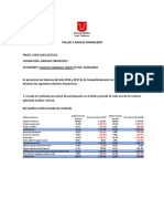 TALLER 3 ANALISIS FINANCIERO