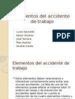 Elementos del accidente de trabajo (Diapositivas)