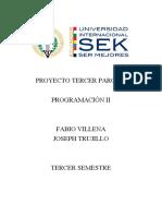 Informe Proyecto Tercer Parcial de Programación